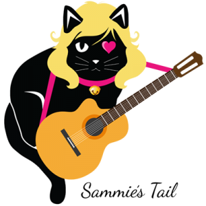 Sammie as a cool musician